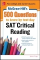 500 SAT Reading and Writing Questions to Know by Test Day