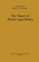 Theory of Pseudo-Rigid Bodies - Harley Cohen; Robert G. Muncaster