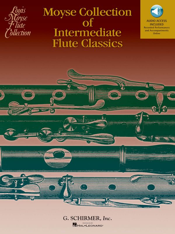 Moyse Collection of intermediate Flute