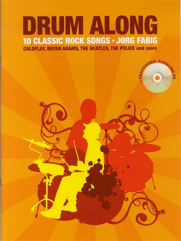Drum along - 10 Classic Rock Songs (+CD)