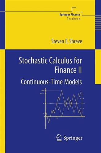 Stochastic calculus for finance v. 2 continuous time models