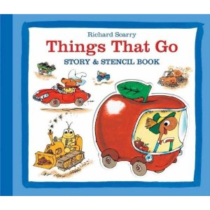 Things that go! Story & Stencil Book - Richard Scarry