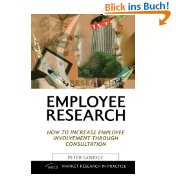 Employee Research: How to Increase Employee Involvement Through Consultation ... - Peter Goudge