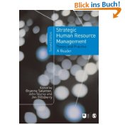 Strategic Human Resource Management: Theory and Practice (Published in association with The Open University) - Graeme Salaman John Storey and  Jon Billsberry