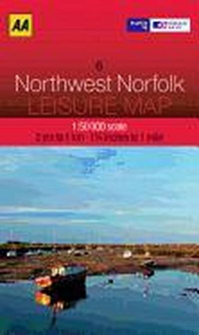 Leisure Map WK 06 NW Norfolk 1 : 50 000
