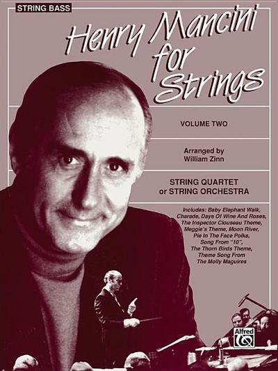 Henry Mancini for Strings, Vol 2: Bass - Henry Mancini