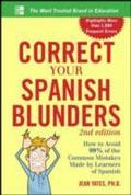 Correct Your Spanish Blunders, 2nd Edition - Jean Yates