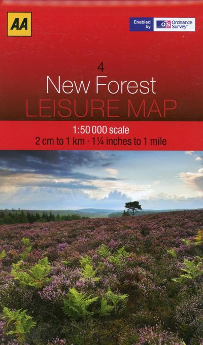 Leisure Map WK 04 New Forest 1 : 50 000