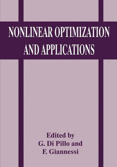 Nonlinear Optimization and Applications - Franco Giannessi