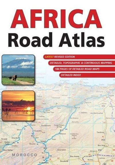 Africa Road Atlas  1 : 1.500 000 - 1 : 3.500 000