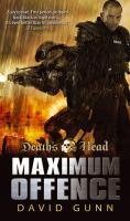 Death`s Head: Maximum Offence (Death`s Head 2) - David Gunn