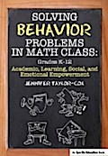 Solving Behavior Problems in Math Class - Jennifer Taylor-Cox