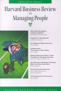 Harvard Business Review on Managing People (Harvard Business Review Paperback Series)