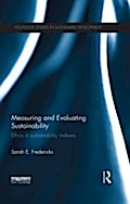 Measuring and Evaluating Sustainability - Sarah E. Fredericks