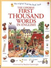 The Usborne First Thousand Words In English - Heather Amery