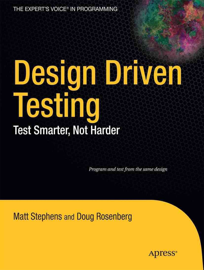 Design Driven Testing - Matt Stephens