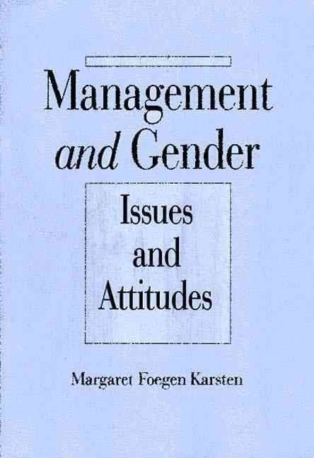 Management and Gender - Margaret Foegen Karsten