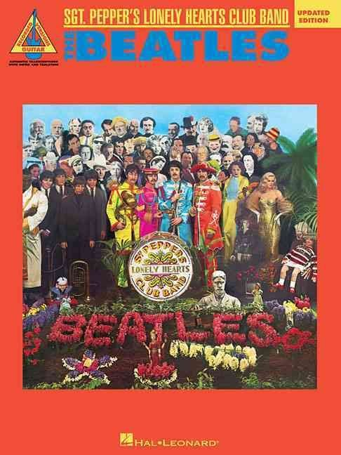 The Beatles the SGT Peppeers Lonely Hearts Club Band Gtr Tab Bk