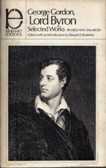 Selected Poetry and Letters (Rinehart Editions) - George Gordon Lord Byron