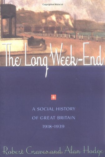 Long Weekend - Robert Graves