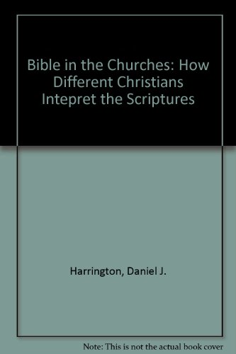 The Bible in the Churches: How Different Christians Interpret the Scriptures - Kenneth Hagen; Daniel J. Harrington; Grant R. Osborne; J. A. Burgess