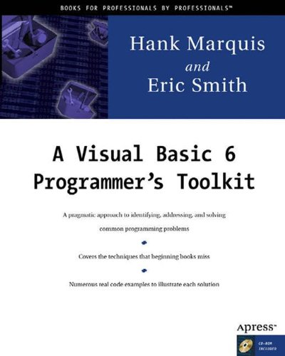 A Visual Basic 6 Programmer's Toolkit - Hank Marquis; Eric Smith