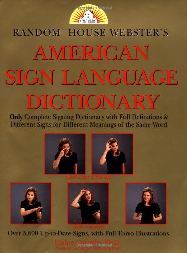 Random House American Sign Language Dictionary - Random House
