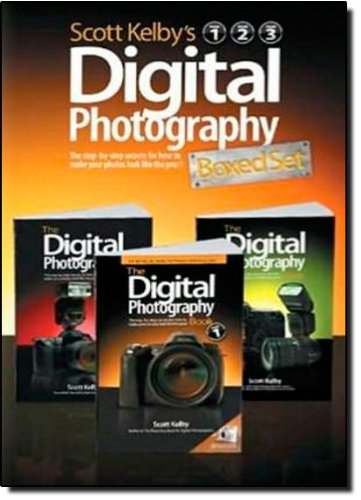 Scott Kelby's Digital Photography Boxed Set, Volumes 1, 2, and 3 - Scott Kelby