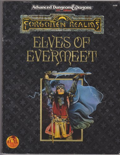 Elves of Evermeet (AD & D Fantasy Roleplaying, Forgotten Realms) - Anne Gray McCready