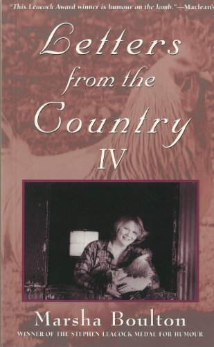 Letters from the Country IV - Marsha Boulton