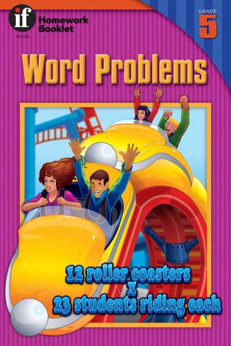 Word Problems Homework Booklet, Grade 5 (Homework Booklets) - School Specialty Publishing