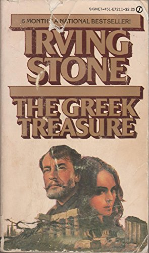 The Greek Treasure - Irving Stone