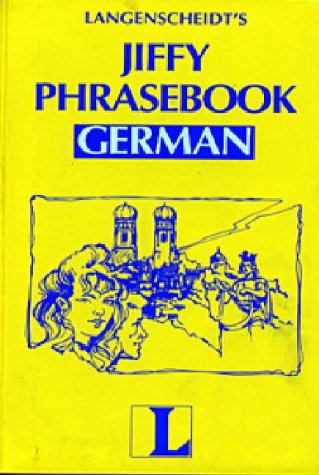Jiffy Phrasebook German (Book Only) (English and German Edition) - Langenscheidt Staff