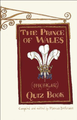 The Prince of Wales (Highgate) Quiz Book - Marcus Berkmann