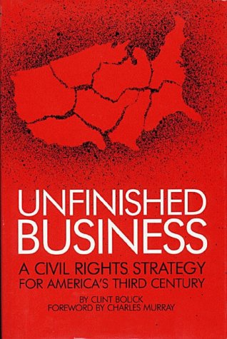 Unfinished Business: A Civil Rights Strategy for America's Third Century - Clint Bolick