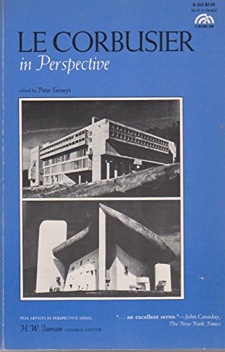 Le Corbusier in Perspective (Artists in perspective series) - Peter Serenyi