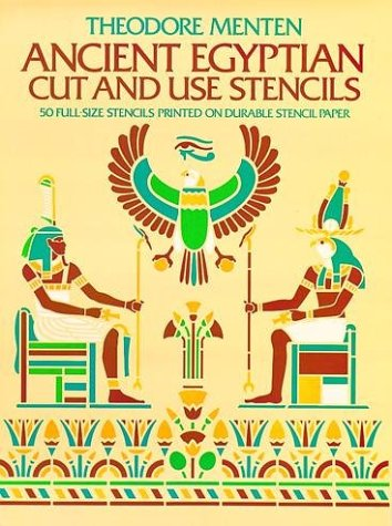Ancient Egyptian Cut and Use Stencils - Theodore Menten