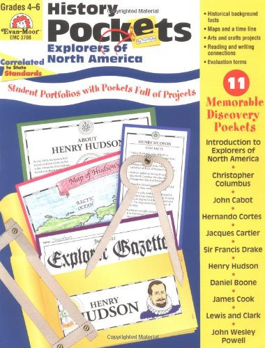 History Pockets, Explorers of North America - Mike Graf