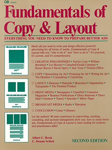 Fundamentals of Copy and Layout - Albert C. Book; C. Dennis Schick
