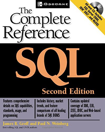 SQL: The Complete Reference, 2nd Edition - James R. Groff; Paul N. Weinberg