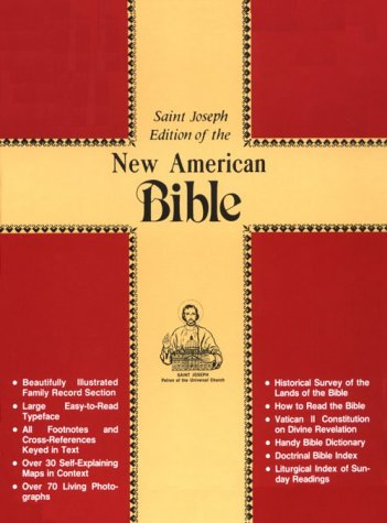 Saint Joseph Edition of the New American Bible No. 611/10R - Catholic Book Publishing Co