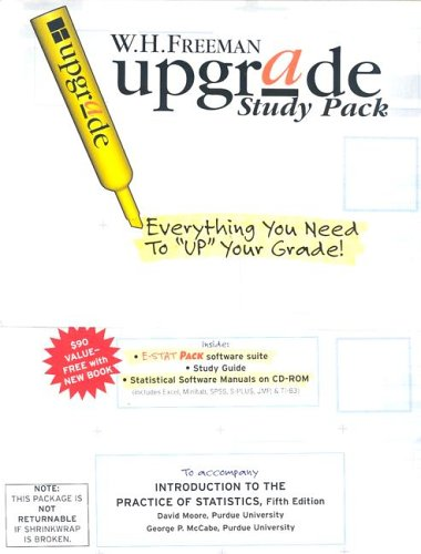 Introduction to the Practice of Statistics Upgrade Study Pack - David S. Moore
