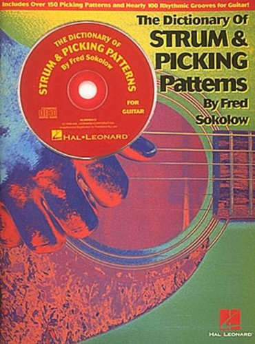 DICTIONARY OF STRUM AND      PICKING PATTERNS FOR GUITAR  BK/CD - Fred Sokolow