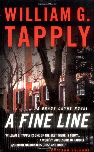 A Fine Line: A Brady Coyne Novel (Brady Coyne Novels) - William G. Tapply