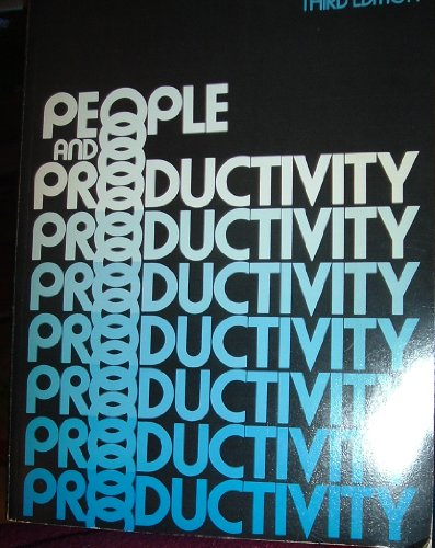 People and Productivity (McGraw-Hill Series in Management) - Robert A. Sutermeister