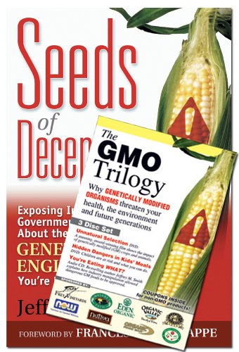 Seeds of Deception  &  GMO Trilogy (Book  &  DVD Bundle) - Jeffrey M. Smith