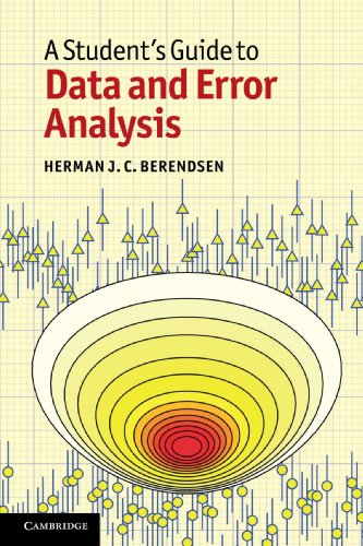A Student's Guide to Data and Error Analysis - Herman J. C. Berendsen