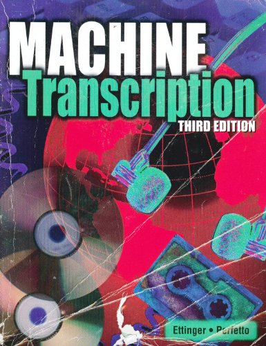 Machine Transcription: Applied Language Skills - Blanche Ettinger, Edda Perfetto