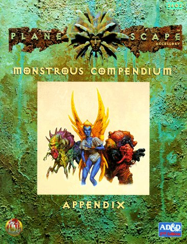 Monstrous Compendium Appendix (Planescape) (Advanced Dungeons  &  Dragons, 2nd Edition, Accessory/2602) - Allen Varney; Jeff Easley; Tony DiTerlizzi