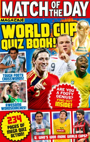 Match of the Day World Cup Quiz Book! - Match of the Day